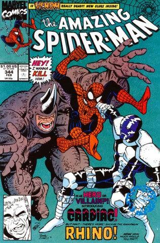 The Amazing Spider-Man #344