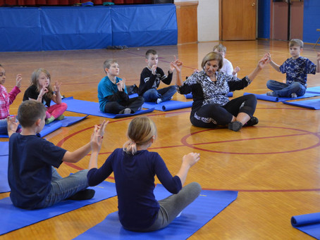 Harrison County Resource Network partners with Kidding Around Yoga to offer yoga in schools