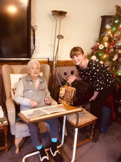 Wavehill staff donate Christmas presents to local Residential Home