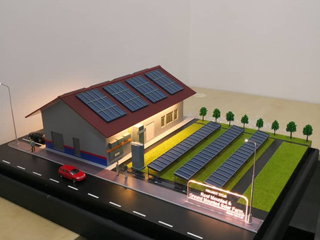 Designing & Making  of Solar Farm Scale Model