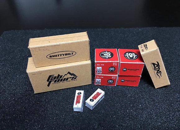 HW Box: 4x4 truck wheels box sets