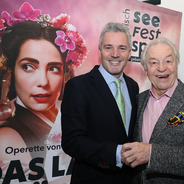 Peter Edelmann with Harald Serafin
