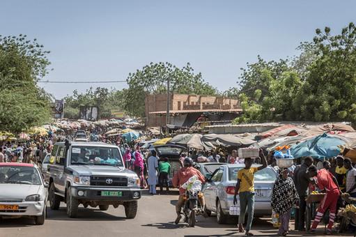 Niger: es wird eng