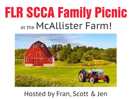 FLR SCCA Family Picnic!