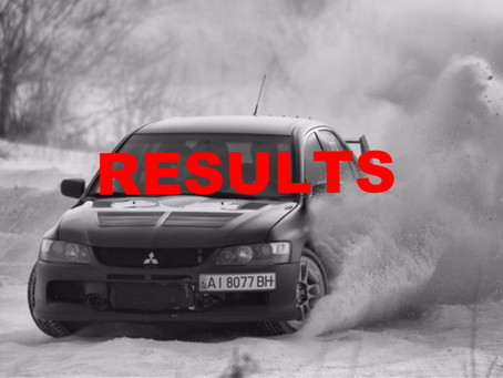 RESULTS - The Route of All EVO VII!