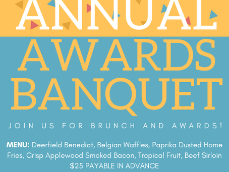 2018 Awards Banquet Brunch January 13