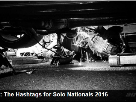 The Hashtags for Solo Nationals 2016