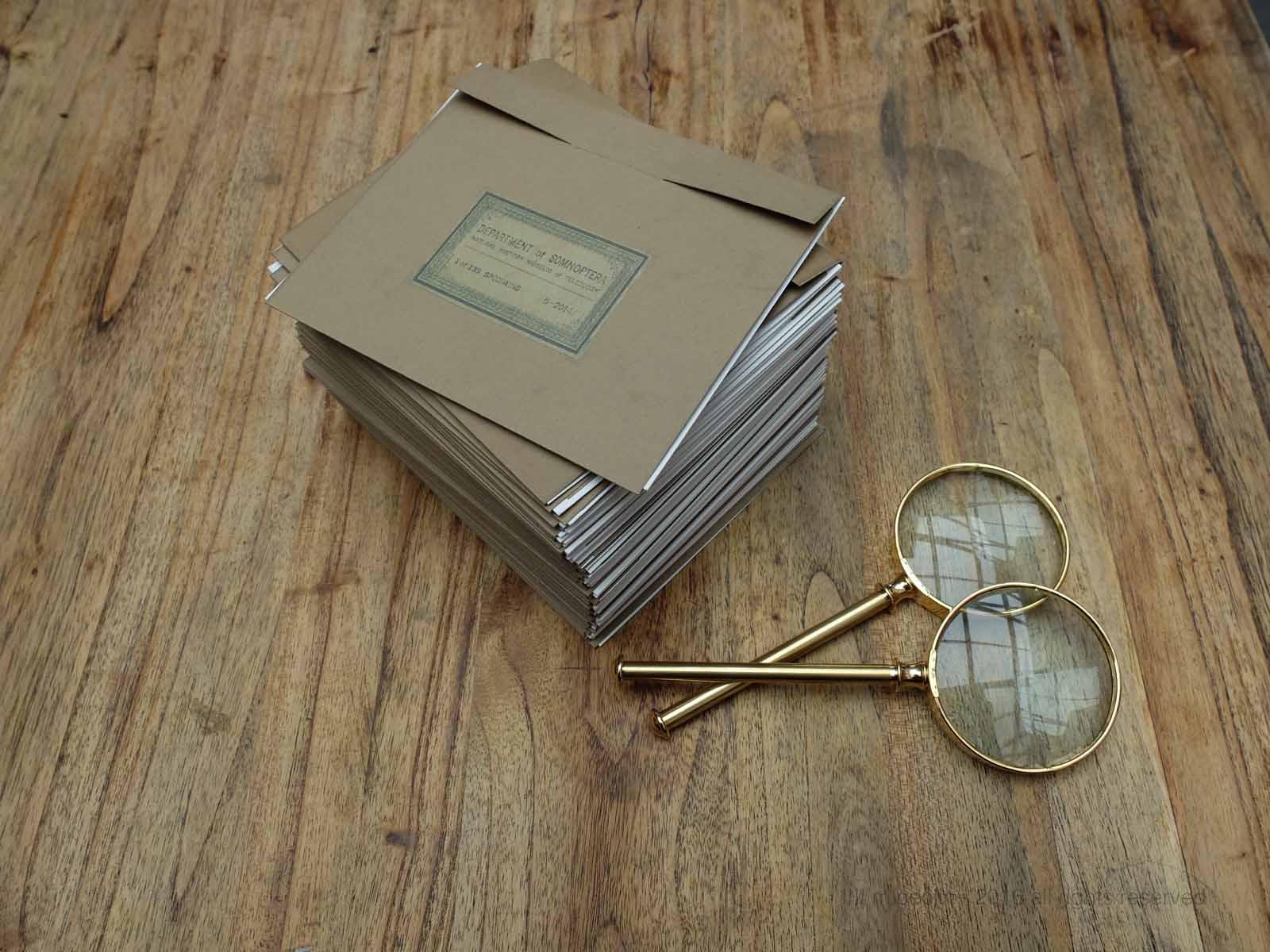 specimen folders