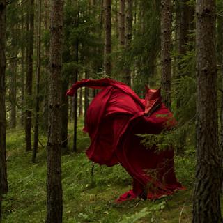 Production still for Ingrid Torvund's Under Earth trilogy