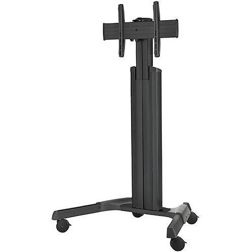 CHIEF Medium Fusion™ Manual Height Adjustable Mobile AV Cart