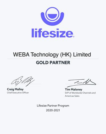WEBA Gold Partner_Partner Certificates_2