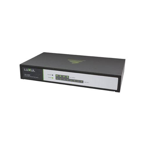 LUXUL 8-Port Fast Ethernet Switch w/4 PoE Port