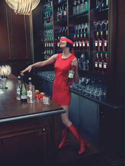 10 Campari Calendar 2015_Mithology Mixology_Eva Green_October_Negroni Sbagliato_