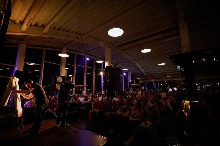 Kempten Poetry Slam Allgäu Slam Ivica Mijajlovic 13th Floor Panorama