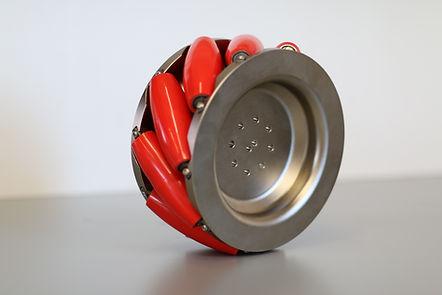 Mecanum Rad für KLT-Mobil der D&T engineering GmbH