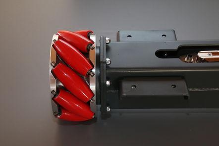 Mecanum Radsystem für KLT-Mobil der D&T engineering GmbH