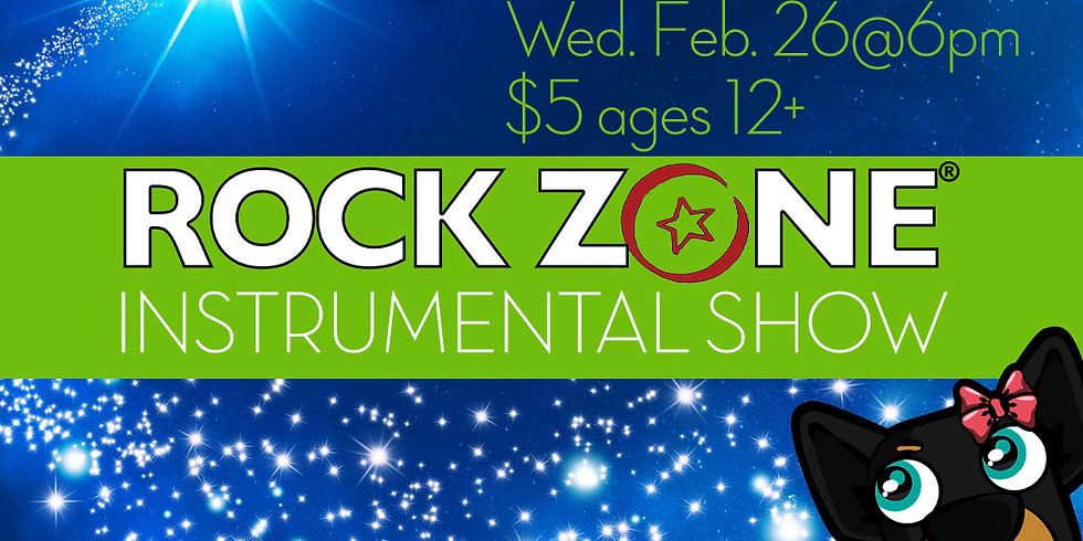 The Magic Of Music Show: Wed. Feb 26@6pm $5 ages 12+