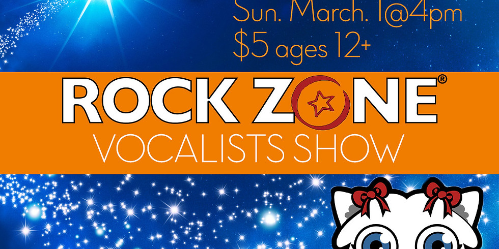 The Magic Of Music: Vocalists Show Sun. March 1st@4pm $5 ages 12+