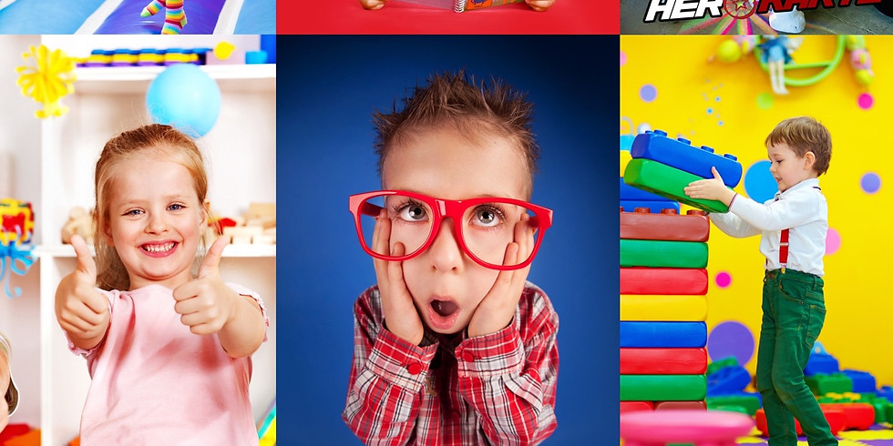 Open Play $5 ages 2+ M-F 10:30am-1:30pm