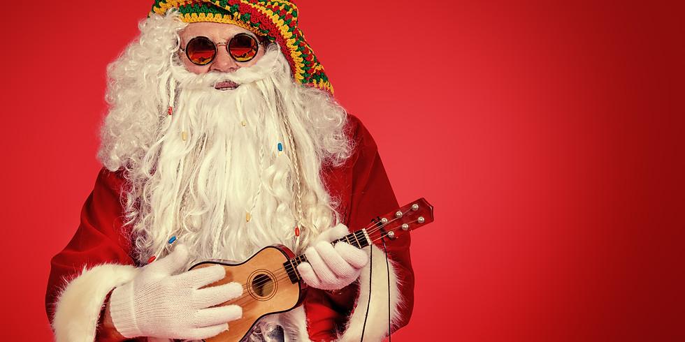 Ukulele With Santa