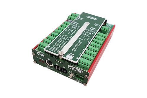 CNA-4-A2, Fiber optic DI, 100M analog inputs, form C relays