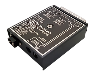 Fiber Optic to Serial RS-232 Adapter