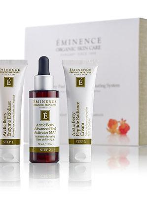 Eminence Organics Arctic Berry Peel & Peptide Illuminating System