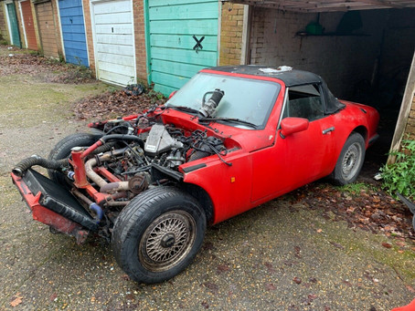 Low Cost TVR V8 S3 Entry Point Car.