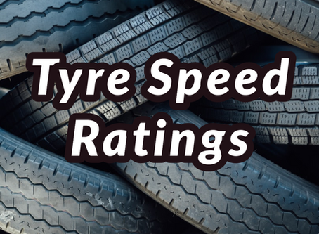 Tyre Speed Ratings - Have You Checked Yours