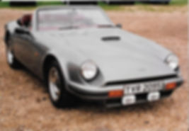 Our TVR 280S in 1990s with the registrat