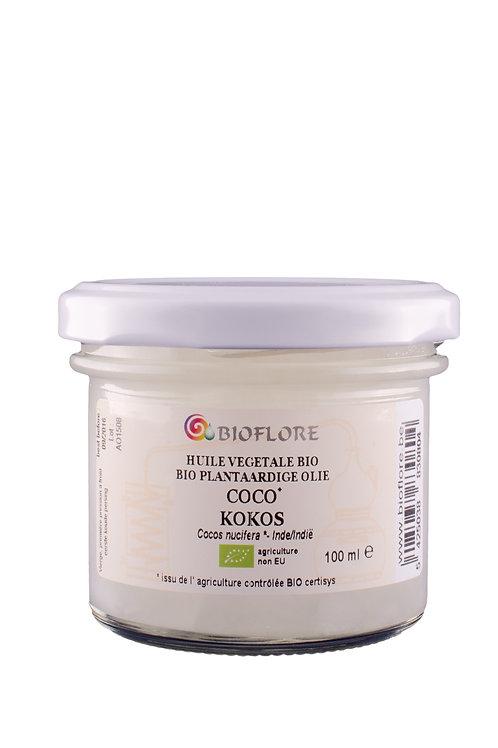 Huile végétale de coco vierge bio