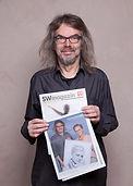 """Aktfotograf Hartwig Keetz mit der Augabe """"Frauengeschichten """" des SW-Magazins vom Revista-Verlages"""