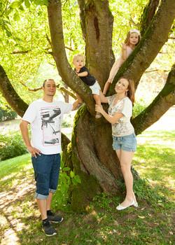 Familienfoto im Freien Schweinfurt