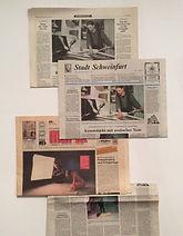 Zeitungsberichte über Aktfotografie von Hartwig Keetz