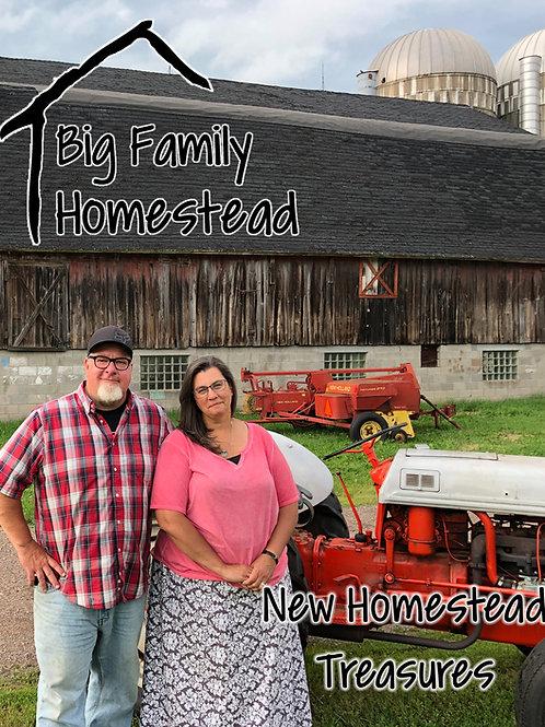 New Homestead Treasures Cookbook