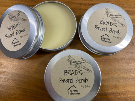 Beard Bomb LIMITED SUPPLY