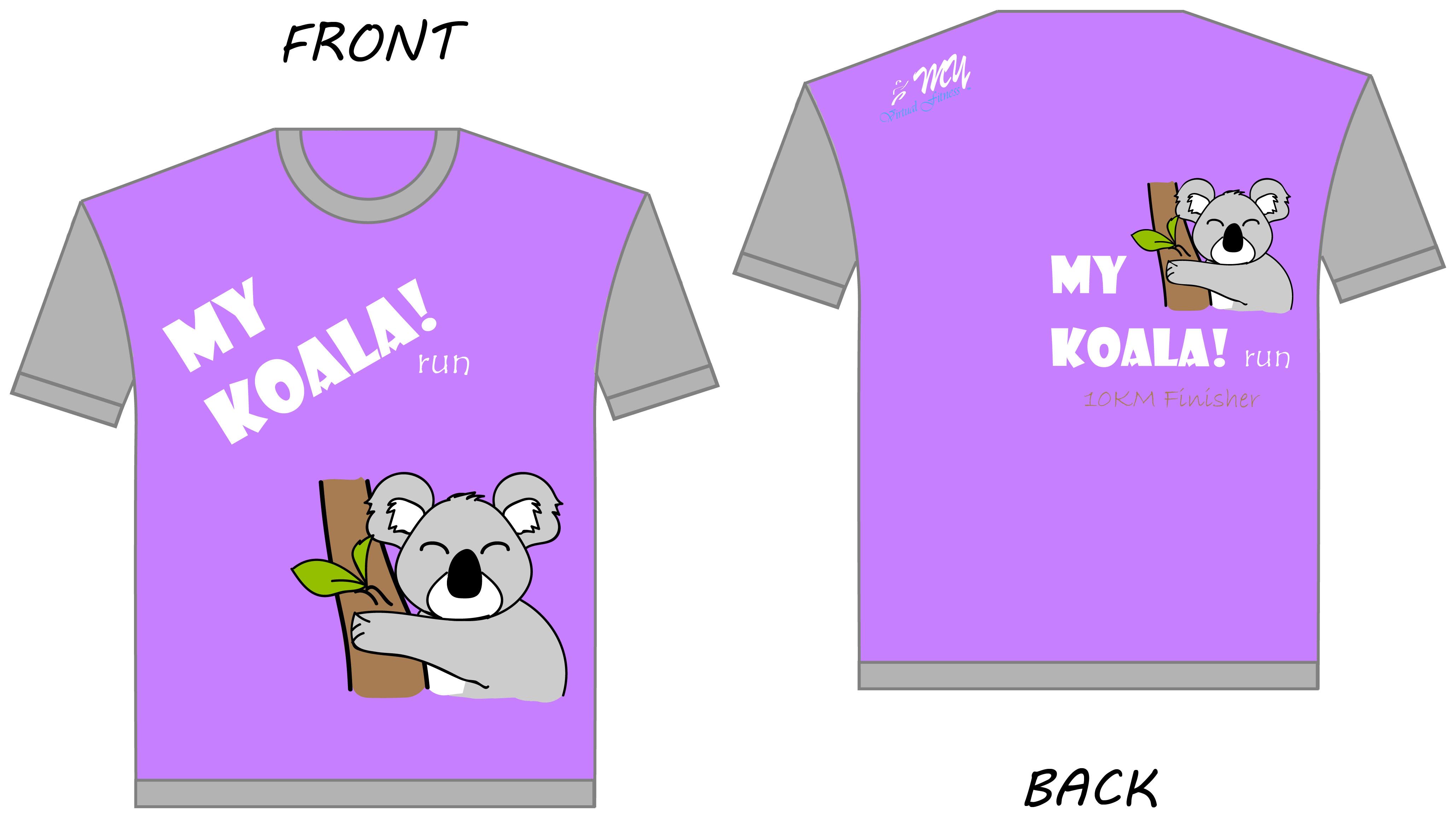 MyKoala! Run ShortSleeves Tee fv