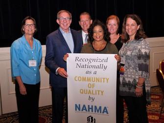 NAHMA COQ Award