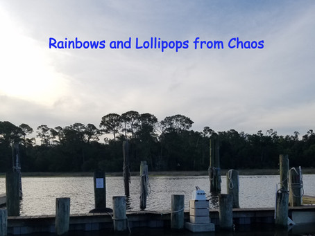 Rainbows and Lollipops from Chaos