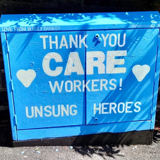 Thank you care workers