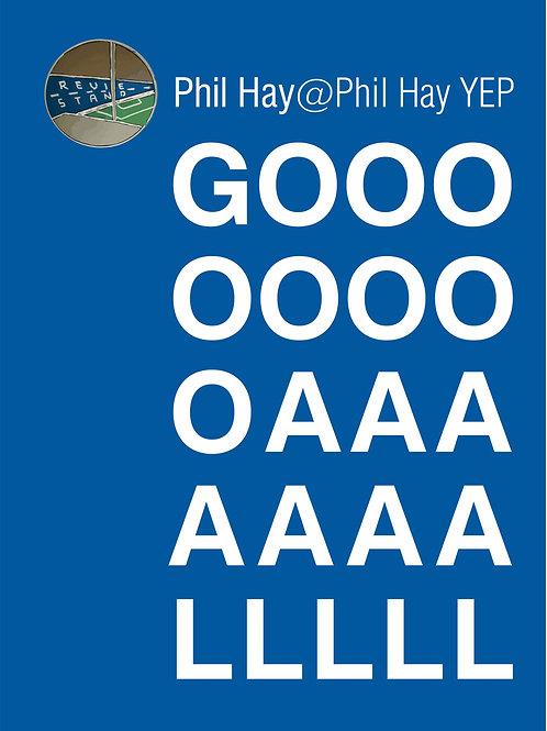 Unframed Phil Hay GOOOAAAALLL  A4 Print