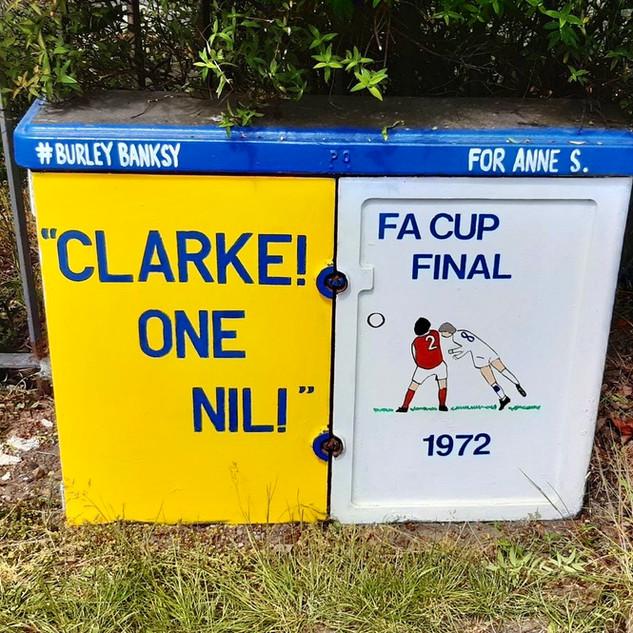 Clarke one nil