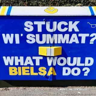 Stuck wi' summat_