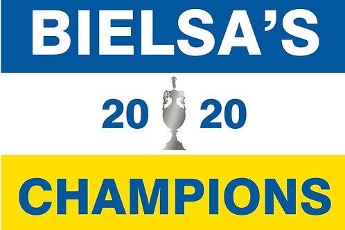BIELSA'S CHAMPIONS Unframed A4 Print