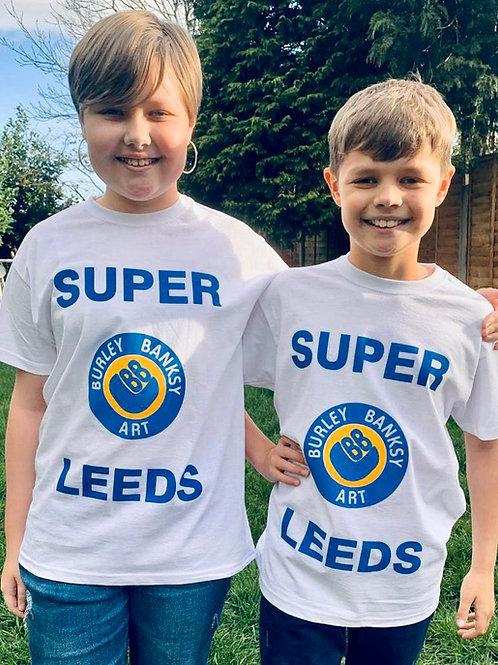 'SUPER LEEDS ' Kids T shirt