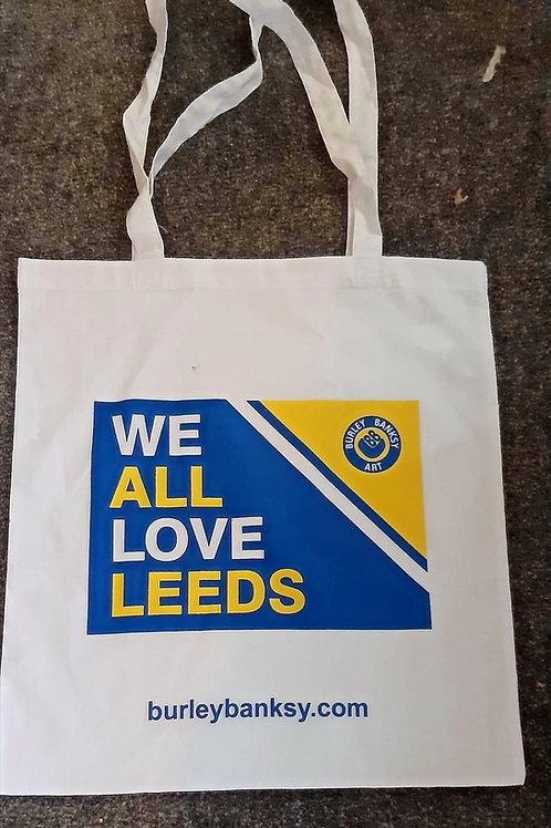 'WE ALL LOVE LEEDS' TOTE BAG