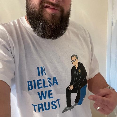 'IN BIELSA WE TRUST ' T shirt