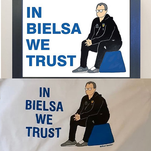 Bielsa T Shirt and Framed A4 Print Offer