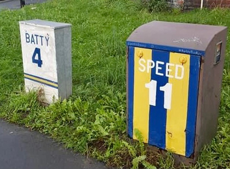 Batty and Speed