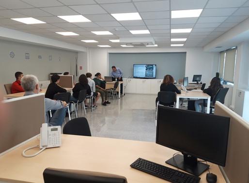 Πρώτη σχολική επίσκεψη στους χώρους του Blue Lab